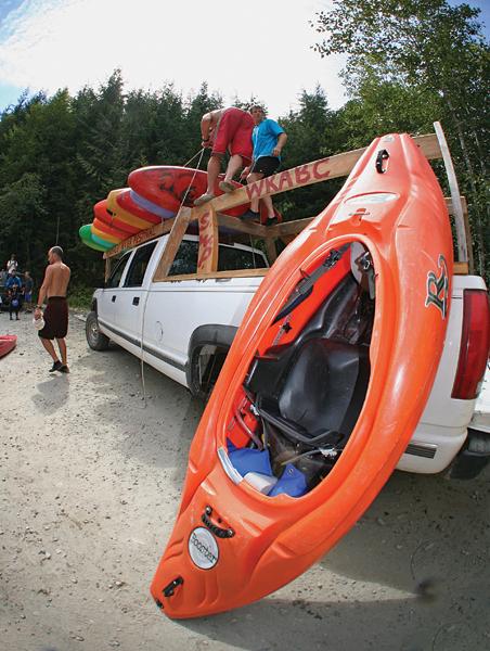 Kayak Ashlu River 3