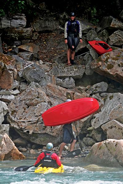 Kayak Ashlu River 2