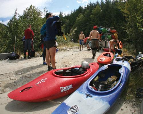 Kayak Ashlu River 4